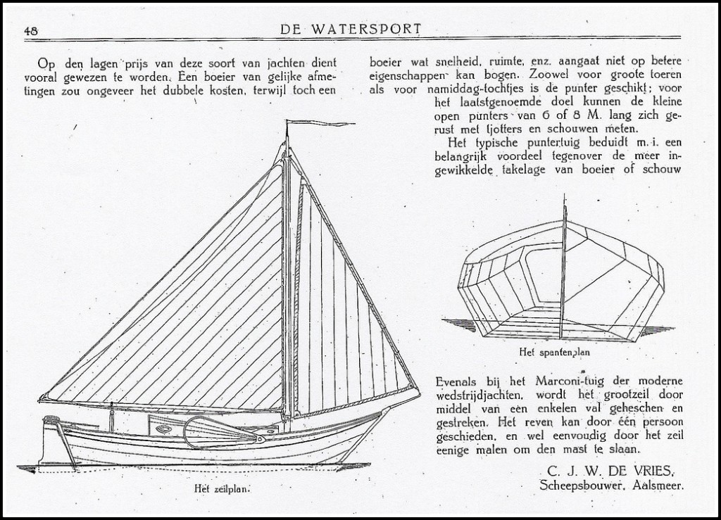 Maart 1918 in de Watersport