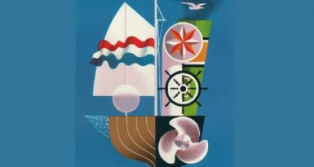 Poster Hiswa 1958 - Eppo Doeve