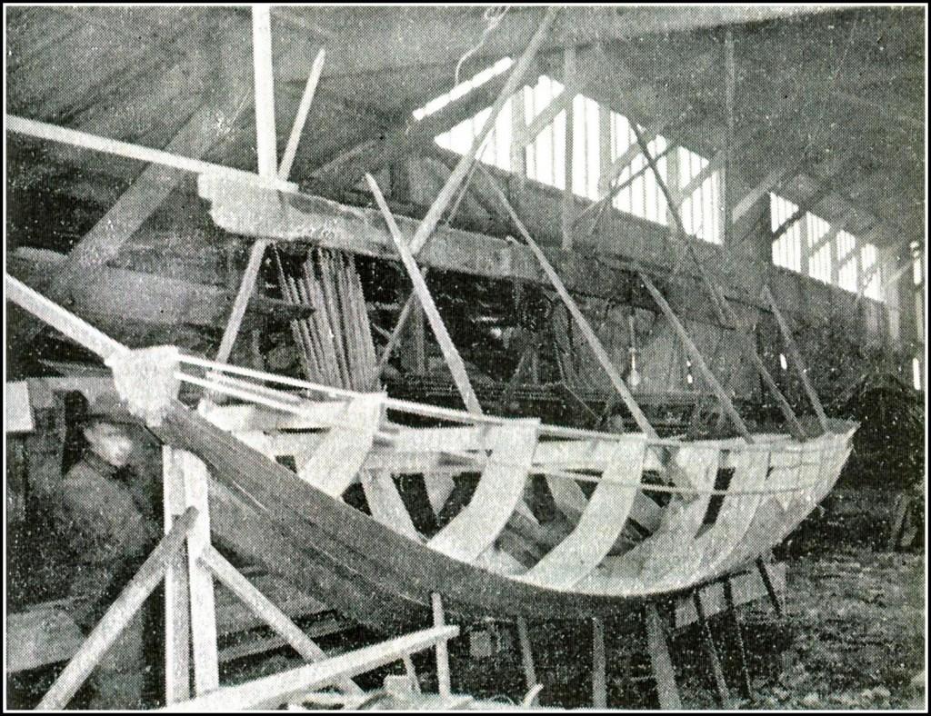 1939 Vlet voor pontonniers  in aanbouw 388 e.v. kopie