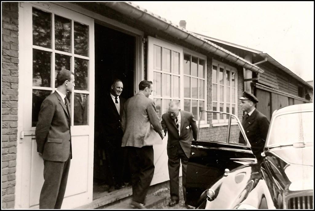1961 Camargo IV, bezoek pr. Bernhard