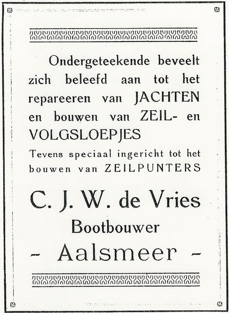 023 Advertentie 1917 KNZRV